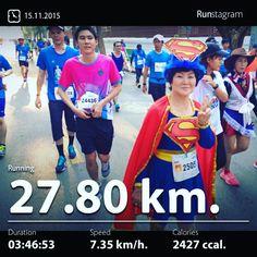 My recent activity! - 27.80 km Running #health #sport #runstagram  #runstagrammer  #Bangkokmarathon #standardcharteredbangkokmarathon #scbm2015 #bangkok  #runnerscommunity #runnerinspiration #runforabettertomorrow #sgrunners #instarunner #instarunners #instarun #worlderunners #run