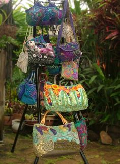 Renate Kirkpatrick's Freeform -- beautiful OOAK purses, totes and bags