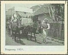 De Bragaweg Bandoeng 1901.