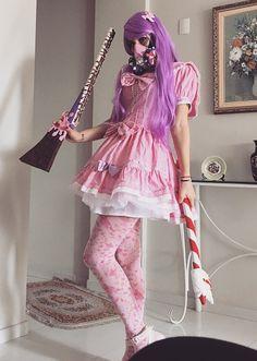 Cosplay Fuyuki Miyako by Ani PJ - Bastet Armastus - Lollita My Boyfriend, Pj, Harajuku, Cosplay, Costumes, Style, Fashion, Swag, Moda