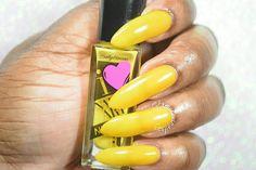 """Sally Hansen I <3 Nail Art """"Sunny Side Up"""" Sally Hansen, Swatch, Nail Art, Nails, Finger Nails, Ongles, Nail Arts, Nail, Pattern"""