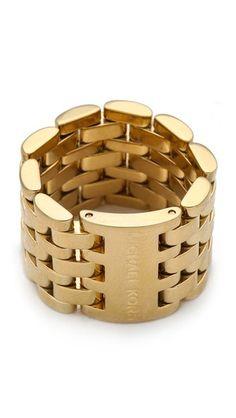 Michael Kors Watch Link Ring