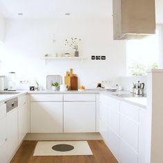 Küchenplanung: Warum wir uns so ewig Zeit damit gelassen haben. Jetzt auf azurweiss. Link im Profil.