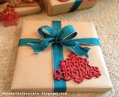 Gift Wrapping Ideas - Brown Paper Packages Tied Up with Strings