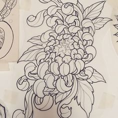 Find the perfect tattoo artist to create the work of art that is you Flor Tattoo, 1 Tattoo, Tattoo Outline, Asia Tattoo, Japan Tattoo, Japanese Tattoo Art, Japanese Art, Tattoo Sketches, Tattoo Drawings