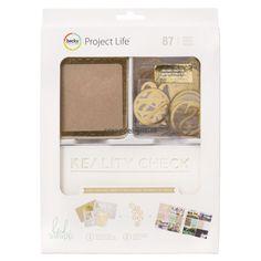 Becky Higgins | Project Life value kit: Kraft + Foil | Scrapdelight Scrapbookwinkel