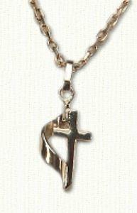 Tiny Methodist Cross - #CR00096