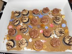 For my nieces birthday. Her parents wanted a pirate theme.so I made a beach scene with the cupcakes. I used seashell molds and chocolate coins. Chocolate Coins, Wilton Cakes, Pirate Theme, Sea Shells, Parents, Scene, Cupcakes, Cookies, Birthday