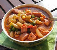 Makkarasoppa  Finnish Sausage Soup