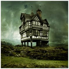 House on a Hill by JeRoenMurre.deviantart.com on @deviantART