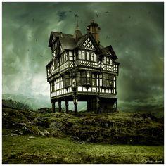 House on a Hill by JeRoenMurre.deviantart.com on @deviantART
