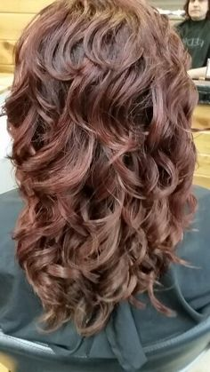 Red Hair Redken @Roots Hair Design ✂ Hair by Ashley Winters