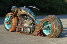 A truly unique full air ride rat built by After Hours Bikes.