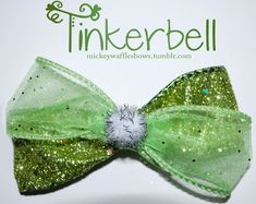 Hey, I found this really awesome Etsy listing at http://www.etsy.com/listing/111517224/tinkerbell-hair-bow