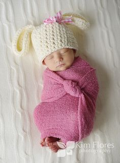 Easter bunny baby!  @Kelly Teske Goldsworthy Teske Goldsworthy Smith Do you have a hat like this because Livie would be precious!!!