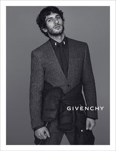 Givenchy Fall/Winter 2013 Campaign Preview, starring spanis actor Quim Gutiérrez, shot by Mert Alas & Marcus Piggot, styled by Carine Roitfeld.
