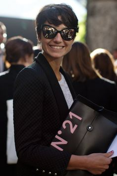 Street Fashion at Milan