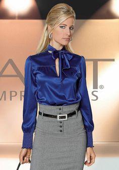 стильные блузки для полных женщин фото