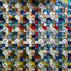 quilted mosaic | by Jeannette E. Spaghetti