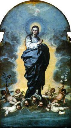 Cano. Vida de la Virgen Catedral de Granada. Inmaculada