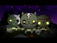 MEOW - A short animated film about the zombie cat apocalypse.