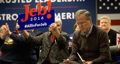 """Establishment Warns A Sullen Jeb To, """"BACK OFF!"""" 