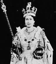 Coronation photograph of Her Majesty Queen Elizabeth II