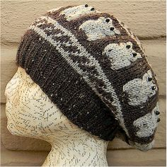 Ravelry: Ms. Billey's Owl Beret pattern by Jessica L'Heureux
