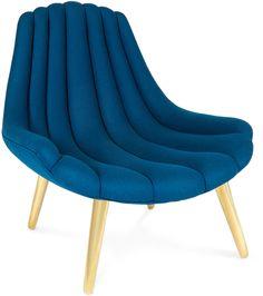 Brigitte Navy Lounge Chair