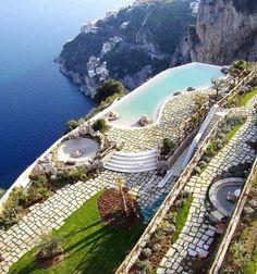 Monastero Santa Rosa Hotel & Spa   (In Italy!)
