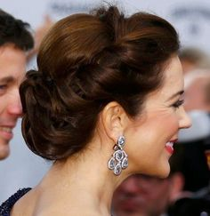 Crown Princess Mary of Denmark and Crown Prince Frederik of Denmark arrive at the Bambi Awards 2014 in Berlin, Germany. 13 November 2014