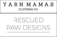 yarn mamas-rescued paw designs