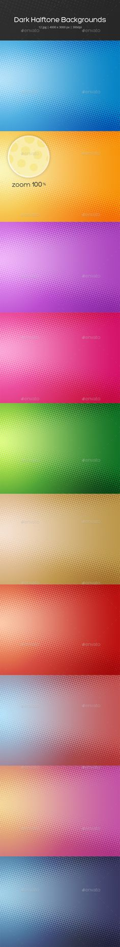 Dark Halftone Backgrounds - Backgrounds Graphics