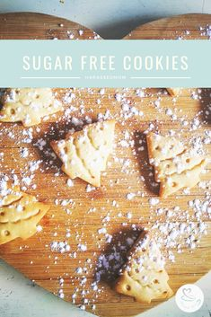 These sugar free cookies are sugar free but my kids devoured them and had no idea there was honey instead of sugar in them Sweets Recipes, Baking Recipes, Cookie Recipes, Drink Recipes, Desserts, Kids Meals, Easy Meals, Budget Family Meals, Sugar Free Cookies