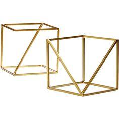 2-piece v and z cube set
