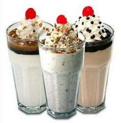 Steak & Shake copycat Chocolate shake - I added a couple extra scoops of ice cream (or you could reduce milk) to make it thicker.  SO yummy!!!!