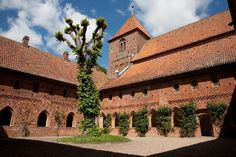 St. Catherine`s Priory - in Ribe - the oldest town in Denmark