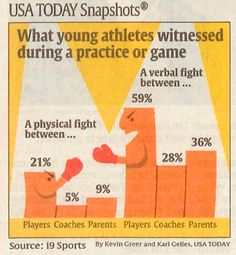 Poor Sportsmanship by adults in youth sports