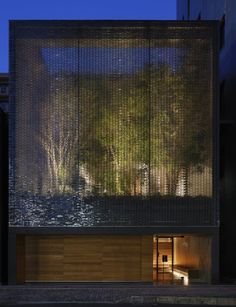 Optical Glass House by architect Hiroshi Nakamura  http://www.nakam.info/works/houseK/movie.html