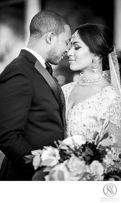 Luxury Wedding Photographer based in Washington, DC | Anna Schmidt Photography - Indian Bride: Location: Four Seasons Hotel, Washington, DC, 2800 Pennsylvania Ave NW, Washington, DC 20007.