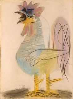 Picasso - Rooster, (1938)
