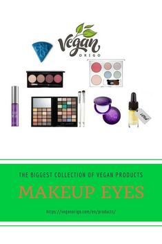 The secret of glowing eyes vegan beauty products