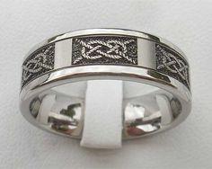 Ancient Mariners Titanium Ring