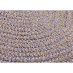 Andover Mills Ridley Amethyst Check Indoor/Outdoor Area Rug Rug Size: Oval 10' x 13'