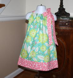 baby Pillowcase Dress SALE WAS $19.99 NOW $15.00 by BlakeandBailey, $15.00
