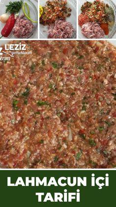 Pizza, Breakfast Items, Turkish Recipes, Bakery, Beef, Meals, Food, Mediterranean Kitchen, Recipe