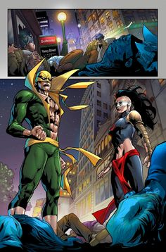 Are Luke Cage and Iron Fist the men who can stop Marvel's newest menace? Published September 2019 Written by Jamie Frevele Marvel Comic Universe, Marvel Comics Art, Comics Universe, Marvel Memes, Marvel Cinematic Universe, Marvel Avengers, Comic Books Art, Comic Art, Book Art
