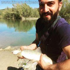 Fiume Vomano pesca a passata con barbo finale pesca fishing