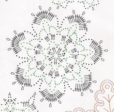 Snowflake Crochet Diagram, Crochet Chart, Filet Crochet, Crochet Motif, Crochet Doilies, Crochet Flowers, Crochet Patterns, Crochet Christmas Ornaments, Crochet Snowflakes