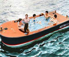 Electric Hot Tub Boat $42,000.00